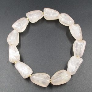 Jewelry - Vintage Light Pink Faux Stone Bracelet